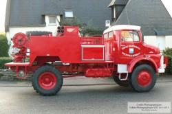 Camion Citerne Feux de Forêt Lourd CCFFL - Camiva 1979
