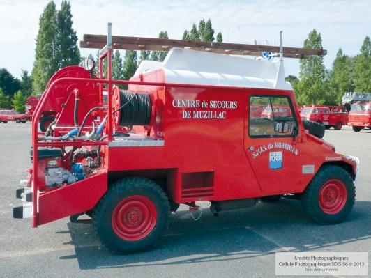 Camion Citerne Léger Feux de Forêt CCLFF - Desautel 1984