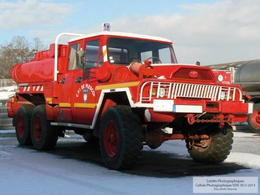 Camion Citerne Feux de Forêt lourd CCFF - Acmat 1984
