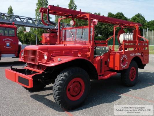 Camionnette d'Incendie Dodge 1940