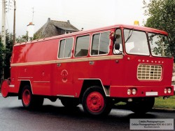 Fourgon Dévidoir Grande Puissance - Berliet incendie 1963