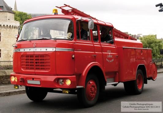Fourgon Pompe Tonne FPT - Berliet incendie 1964