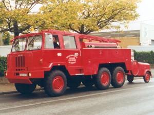 Fourgon Pompe Tonne Hors Chemin - Berliet Incendie 1971