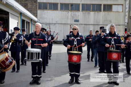 Répétition de l'orchestre des sapeurs-pompiers du Morbihan