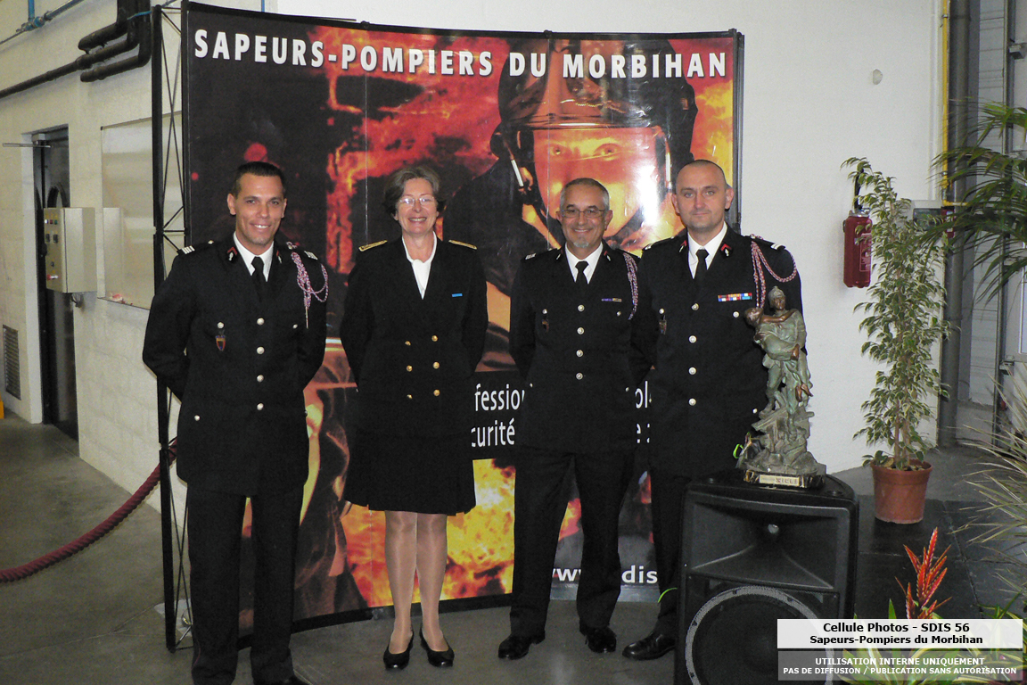 Passation de commandement au csp pontivy sdis 56 for Bureau 56 pontivy