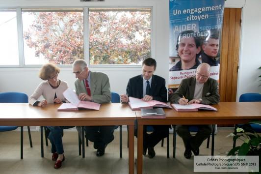 29/10/2012 Sarzeau signature convention